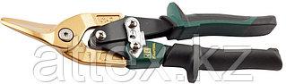 KRAFTOOL Ножницы по твердому металлу TITAN, левые, Cr-Mo, титановое покрытие, 250 мм 2327-L