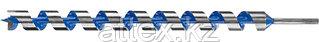 Сверло по дереву, спираль Левиса, HEX хвостовик, ЗУБР Эксперт 2948-600-40, d=40х600мм