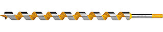 "Сверло по дереву ""Spiral"", спираль Левиса, HEX хвостовик, STAYER Professional 29475-450-25, d=25х450мм"