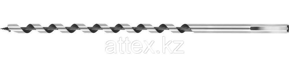 Сверло по дереву, спираль Левиса, HEX хвостовик, URAGAN 29465-235-06, 6х235мм