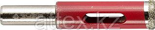 Сверло ЗУБР алмазное трубчатое по кафелю, керамике, зерно 60, 10мм 29850-10