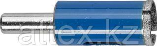 Сверло ЗУБР алмазное трубчатое по стеклу, зерно 100, 16мм 29860-16