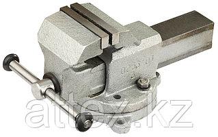 """Тиски слесарные ЗУБР """"ЭКСПЕРТ"""" с поворотным основанием, 80 мм 32602-80"""