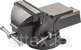 """Тиски STAYER """"STANDARD"""" слесарные с поворотным основанием, 150 мм/ 12,5кг 3254-150"""