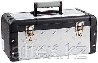 """Ящик для инструмента """"СПЕЦ-18"""" металлический, ЗУБР Профессионал 38155-18  472 x 212 x 254 мм"""