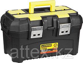 """Ящик STAYER """"MASTER"""" пластиковый для инструмента, 420x250x230 мм (16"""") 38016-16"""
