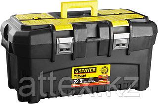 """Ящик STAYER """"MASTER"""" пластиковый для инструмента, 580x320x280 мм (22"""") 38016-22"""