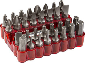 Набор ЗУБР: Биты специальные, с магнитным адаптером, хромованадиевая сталь, 33 предмета Зубр 26045-H33