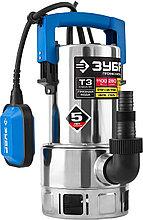 Насос погружной дренажный для грязной воды Зубр НПГ-Т3-1100-С