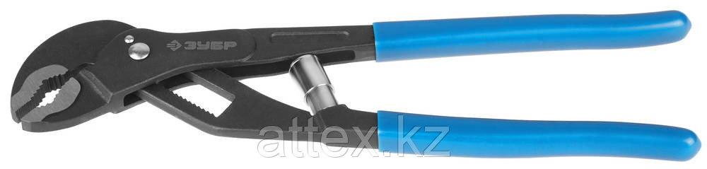 Клещи ЗУБР переставные, саморегулирующиеся, с быстрым захватом, 240мм 2243