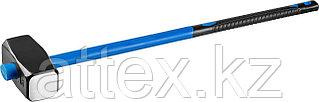 Кувалда с фиберглассовой рукояткой СИБИН, обратный всад, 8 кг 20134-8
