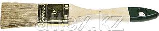 """Кисть плоская STAYER """"LASUR-STANDARD"""", смешанная (натуральная и искусственная) щетина, деревянная ручка, 38мм 01031-38"""