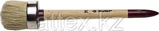 """Кисть круглая ЗУБР """"УНИВЕРСАЛ - МАСТЕР"""", светлая щетина, деревянная ручка, №14, 50мм 01501-50"""
