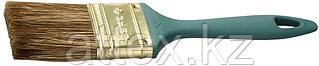 """Кисть ЗУБР """"КП-14"""" плоская, смешанная щетина, пластмассовая рукоятка, 50мм 4-01014-050"""