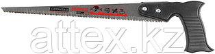 Ножовка выкружная (пила) STAYER ТАЙГА 300 мм, 10 TPI, с острием для просверливания, закаленный зуб 1518