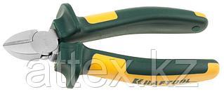 """Бокорезы KRAFTOOL""""KRAFT-MAX"""",Cr-Mo,маслобензост двухкомп рукоятки,шарнирное соединение с повыш износост,160мм 22011-5-16"""