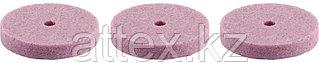 Круг STAYER шлифовальный, карбид кремния, d 18,7мм, Р180, 3 шт 29917-H3