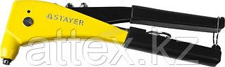 """Заклепочник, STAYER ProFix """"RX600"""" 3104, литой корпус, для заклепок d=2,4 / 3,2 / 4,0 / 4,8 мм - алюминий и сталь"""