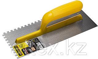 Гладилка штукатурная Stayer 120x280 мм; сталь 08012-06