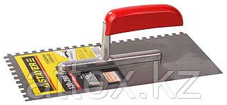 Гладилка штукатурная Stayer 130x280 мм; сталь 0801-06
