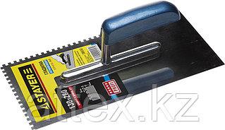 Гладилка штукатурная Stayer 130x280 мм; нержавеющая сталь 0802-04
