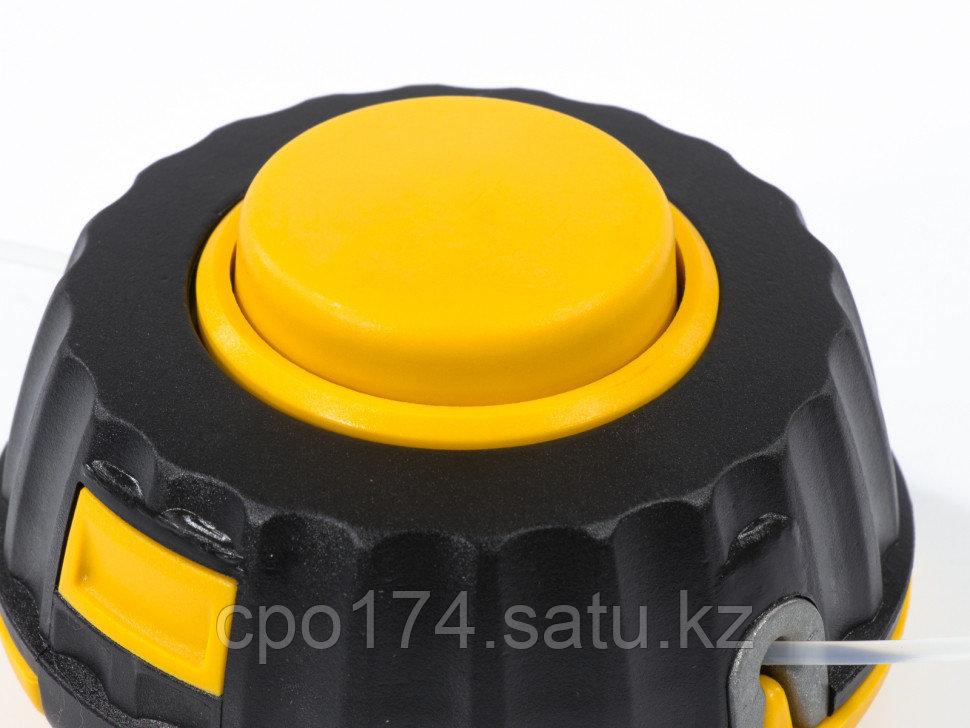 Катушка универсальная триммерная, гайка М10 х1,25, гайка М8, винт М8-М10, левая резьба, шаг 1,25 мм DENZEL - фото 4