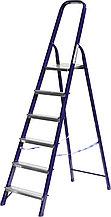 Лестница-стремянка СИБИН стальная, 6 ступеней, 124 см 38803-06