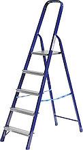 Лестница-стремянка СИБИН стальная, 5 ступеней, 103 см 38803-05