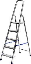 Лестница-стремянка СИБИН алюминиевая, 5 ступеней, 103 см 38801-5