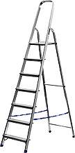 Лестница-стремянка СИБИН алюминиевая, 7 ступеней, 145 см 38801-7