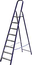 Лестница-стремянка СИБИН стальная, 8 ступеней, 166см 38803-08