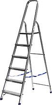 Лестница-стремянка СИБИН алюминиевая, 6 ступеней, 124 см 38801-6