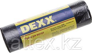 Мешки для мусора DEXX, черные 60л, 20шт 39150-60