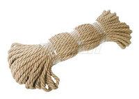 Веревка джутовая диаметр 8,0 мм. (50 м.)