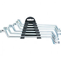 Набор ключей накидных, 6 17 мм, 6 шт., хромированные SPARTA