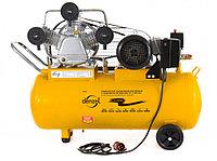 Компрессор PC 3/100-504, маслянный, ременный, произв. 504 л/м, мощность 3 кВт DENZEL