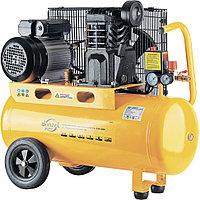 Компрессор PC 2/50-400, Х-PRO, масляный, ременный, 10 бар, производительность 400 л/мин, 2,3 кВт, 220 В DENZEL