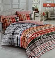 Комплект постельного белья (1,5-спальный, Majoli , Ранфорс)