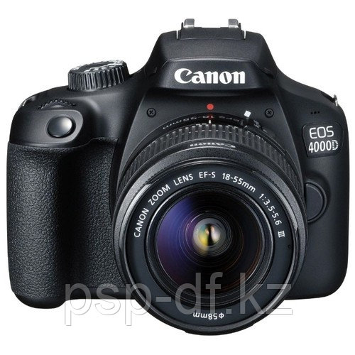 Фотоаппарат Canon EOS 4000D kit 18-55mm f/3.5-5.6 III гарантия 1 год
