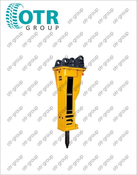 Гидромолот для колесного экскаватора DOOSAN DX210W