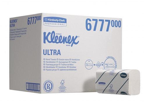 Листовые бумажные полотенца Kleenex Ultra 6777, фото 2