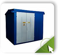 КТП-ВК (ВВ) 630/10(6)/0,4 Автомат 1000А   Прямой ввод через предохранители, фото 1