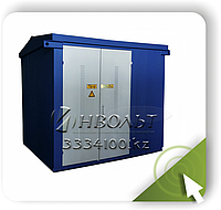 КТП-ВК (ВВ) 100/10(6)/0,4  Ввод через высоковольтный разъединитель, фото 1