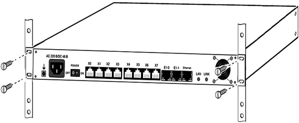 IP-АТС  АГАТ UX-5114 E1, фото 2