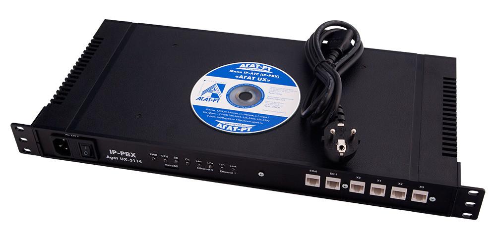 IP-АТС  АГАТ UX-5114 E1