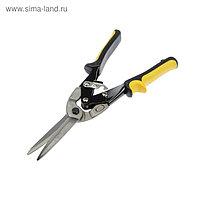 """Ножницы по металлу """"TUNDRA comfort"""" прямой рез, двухкомпонентные рукоятки, 300 мм"""