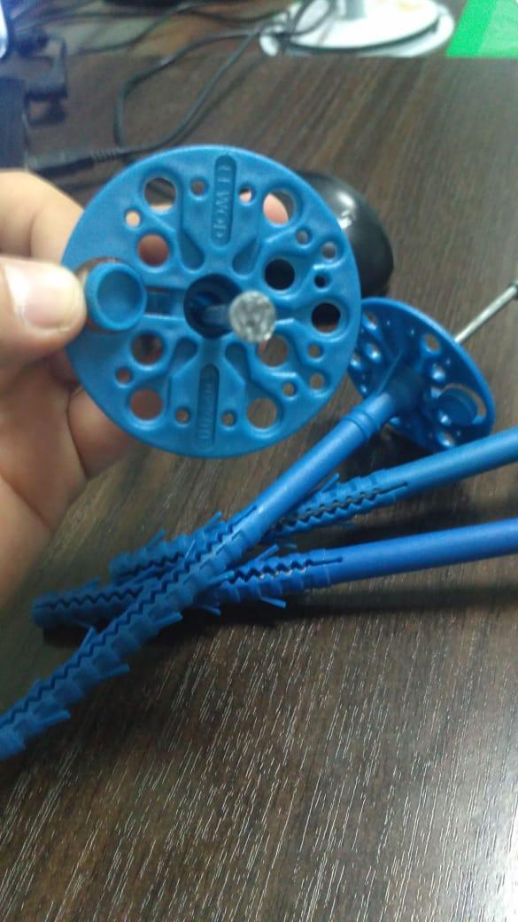 Крепеж пластиковый зонтики