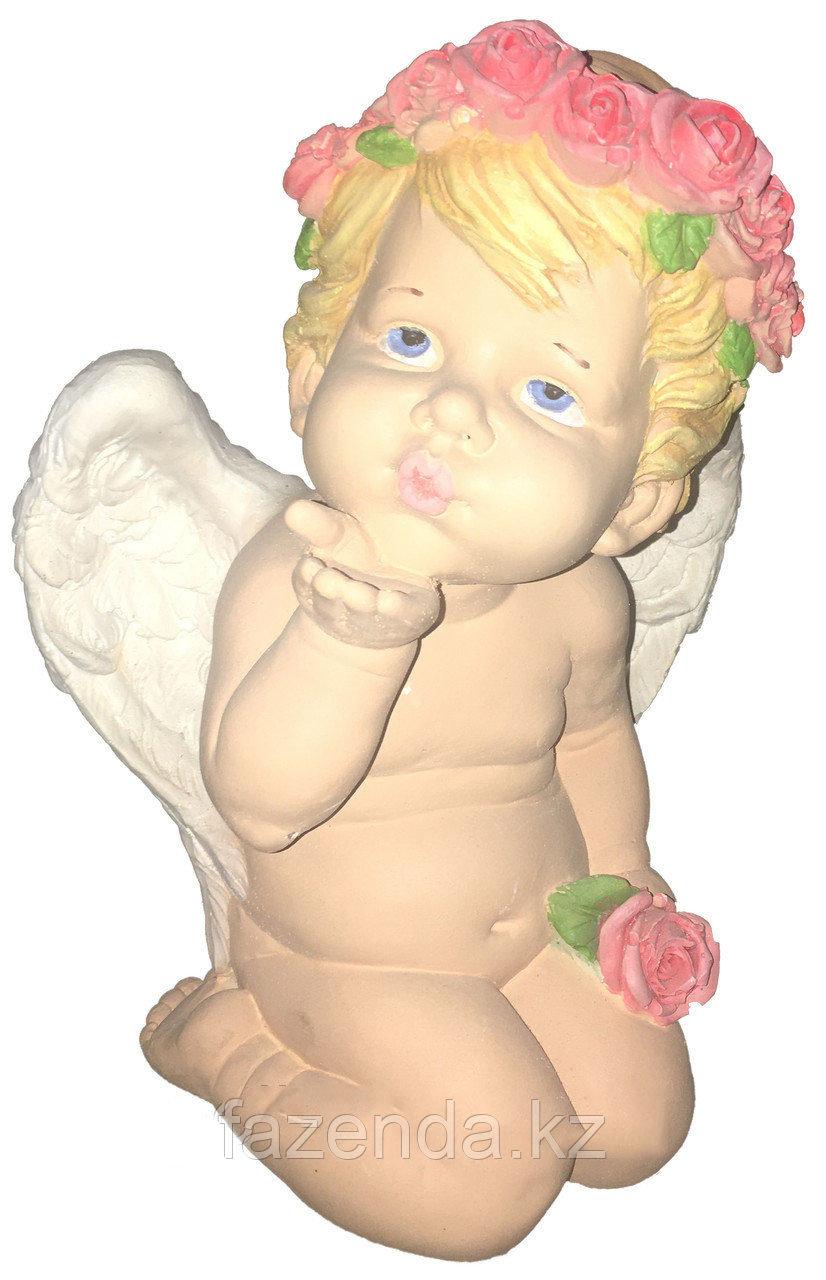 Статуэтка Ангел воздушный поцелуй H-27см