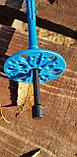 Зонтик дюбель 10*160 с пластиковым гвоздем , фото 6