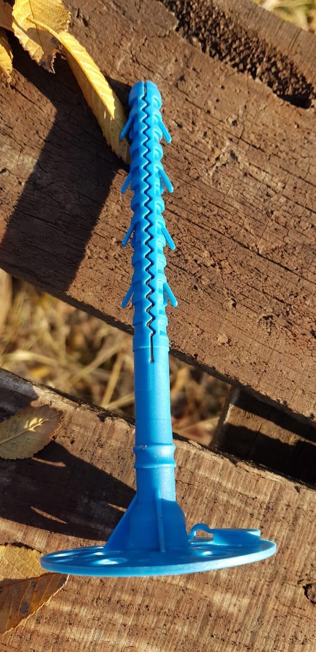 Зонтик дюбель 10*160 с пластиковым гвоздем